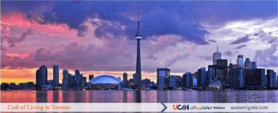 هزینه زندگی در تورنتو ، مخارج زندگی در انتاریو