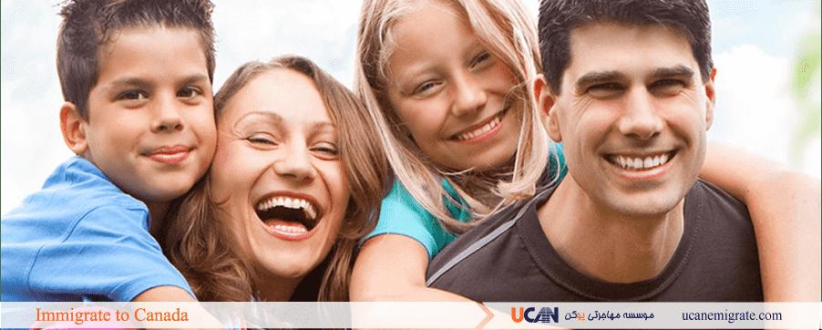 مهاجرت به کانادا از طریق فرزند