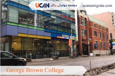 معرفی کالج های معتبر تورنتو ، کالج جورج براون ( George Brown College )