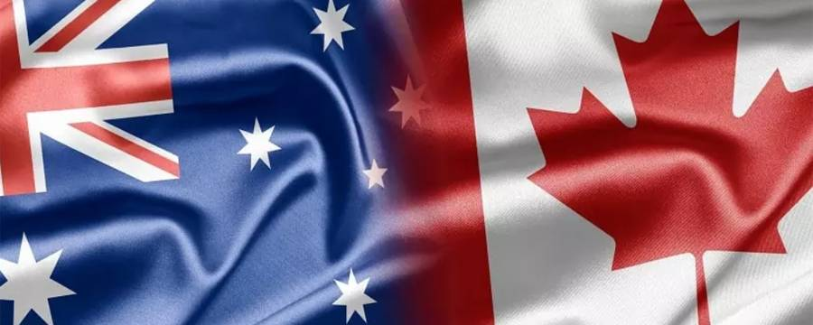 مزایای کانادا نسبت به استرالیا