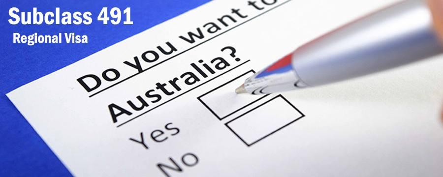 ویزای 491 استرالیا