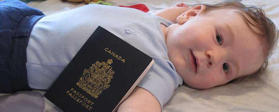 دریافت پاسپورت کانادا