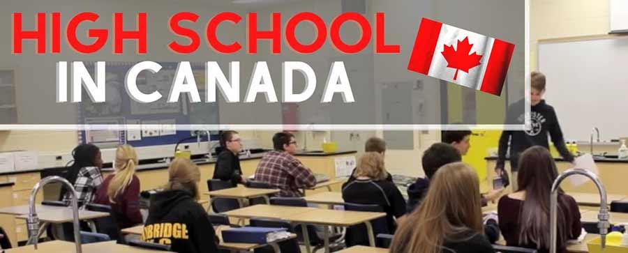 دبیرستان های کانادا